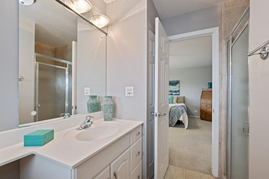 Real Estate Photography - 1721 E Seminole Ln, Mount Prospect, IL, 60056 - Master Bathroom