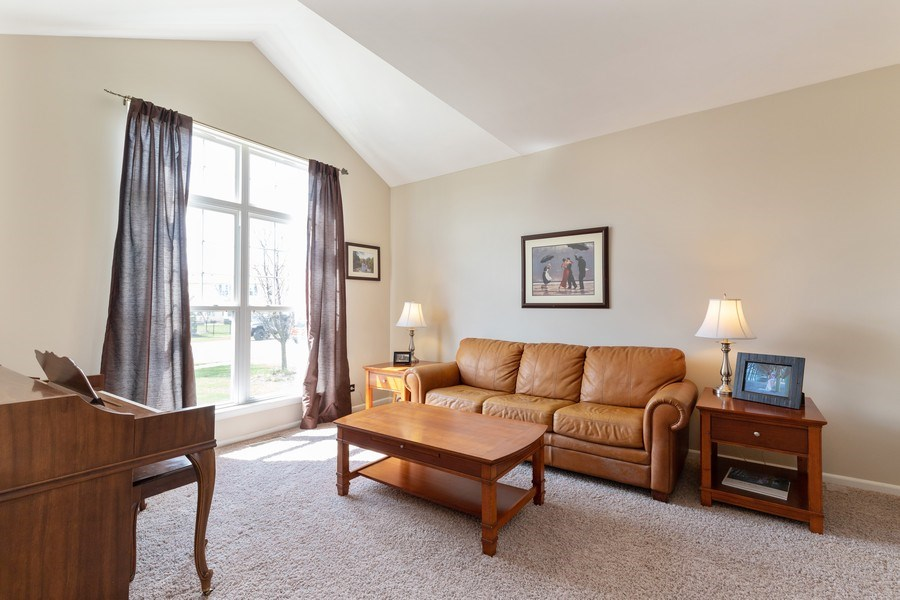 Real Estate Photography - 1655 Forest View Way, Antioch, IL, 60002 - Living Room