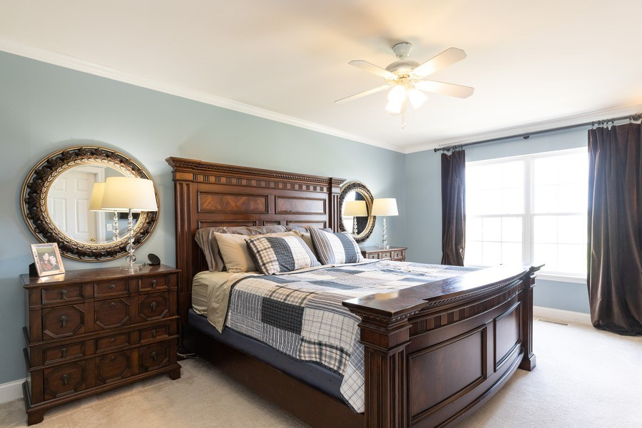 Real Estate Photography - 1655 Forest View Way, Antioch, IL, 60002 - Master Bedroom