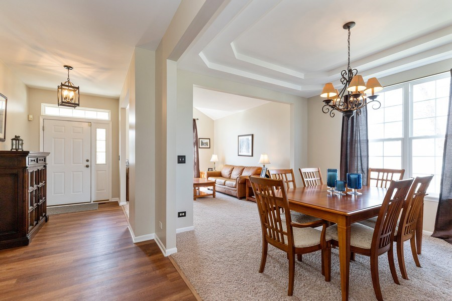 Real Estate Photography - 1655 Forest View Way, Antioch, IL, 60002 - Dining Room