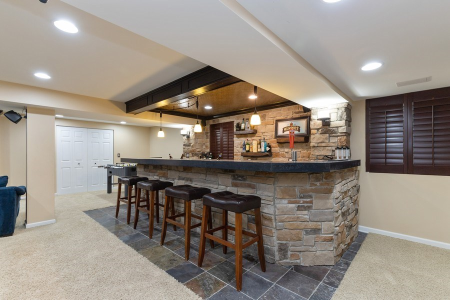 Real Estate Photography - 1655 Forest View Way, Antioch, IL, 60002 - Bar