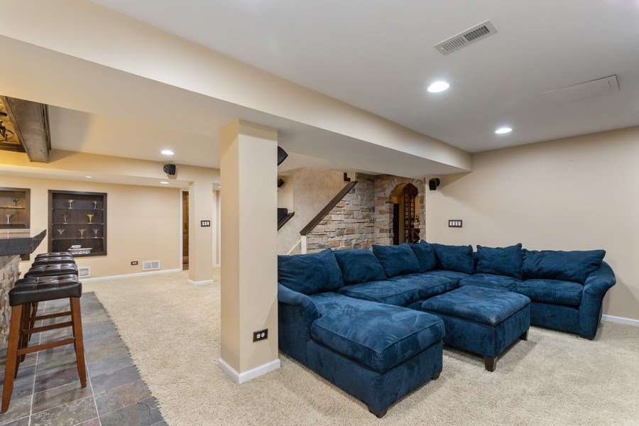 Real Estate Photography - 1655 Forest View Way, Antioch, IL, 60002 - Basement