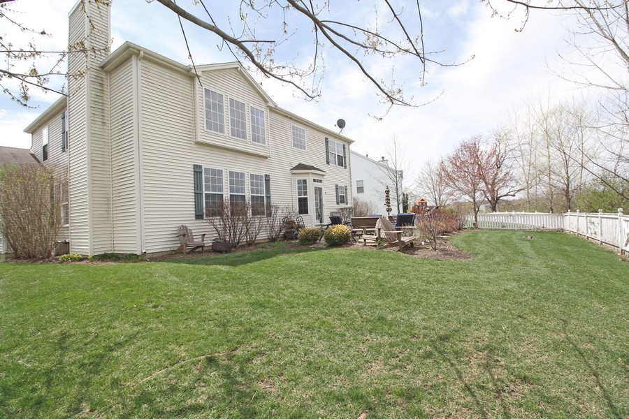 Real Estate Photography - 1655 Forest View Way, Antioch, IL, 60002 - Rear of Home