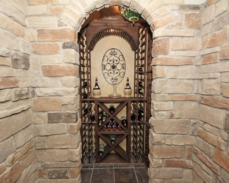 Real Estate Photography - 1655 Forest View Way, Antioch, IL, 60002 - Wine Cellar