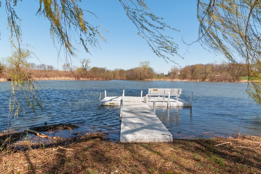 Real Estate Photography - W1186 Trieste Dr, Lake Geneva, WI, 53147 - Pond Access
