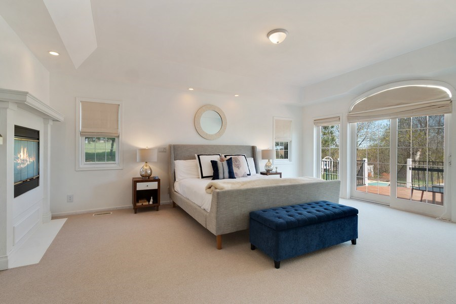Real Estate Photography - W1186 Trieste Dr, Lake Geneva, WI, 53147 - Master Bedroom
