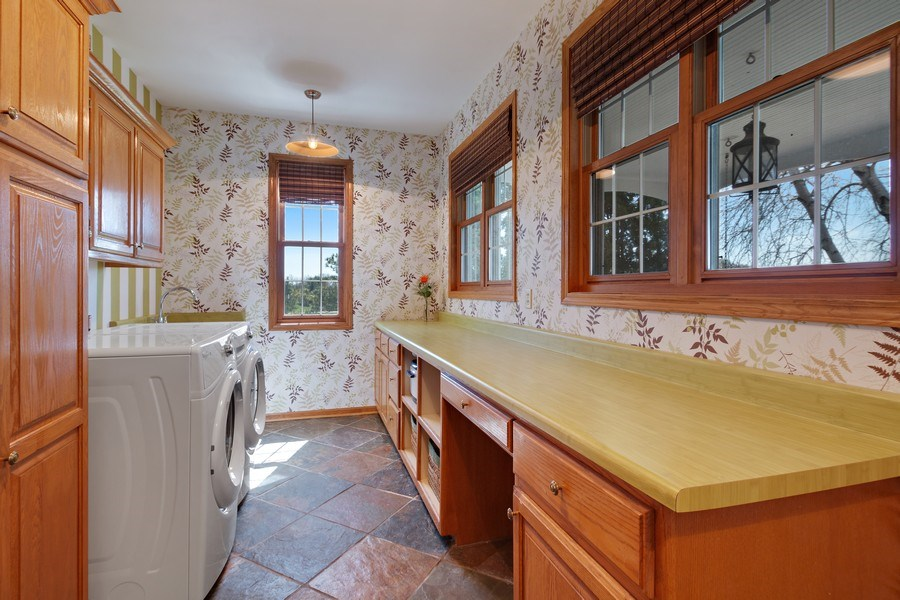 Real Estate Photography - W1186 Trieste Dr, Lake Geneva, WI, 53147 - Laundry Room