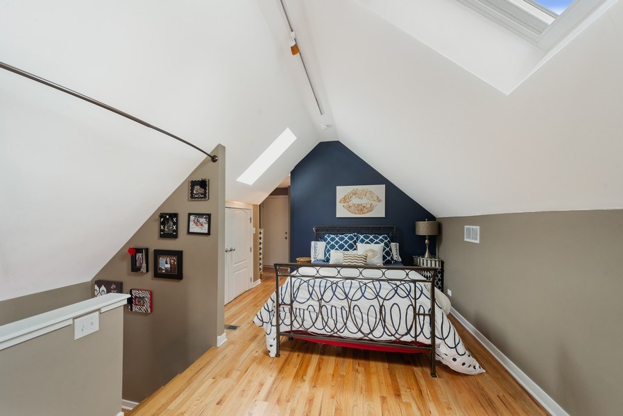 Real Estate Photography - 1347 N. Greenview, #3F, Chicago, IL, 60642 - Master Bedroom