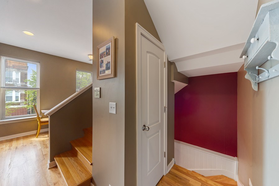 Real Estate Photography - 1347 N. Greenview, #3F, Chicago, IL, 60642 - Staircase