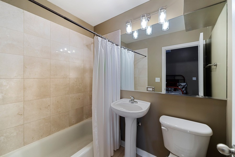 Real Estate Photography - 1347 N. Greenview, #3F, Chicago, IL, 60642 - Second Bathroom