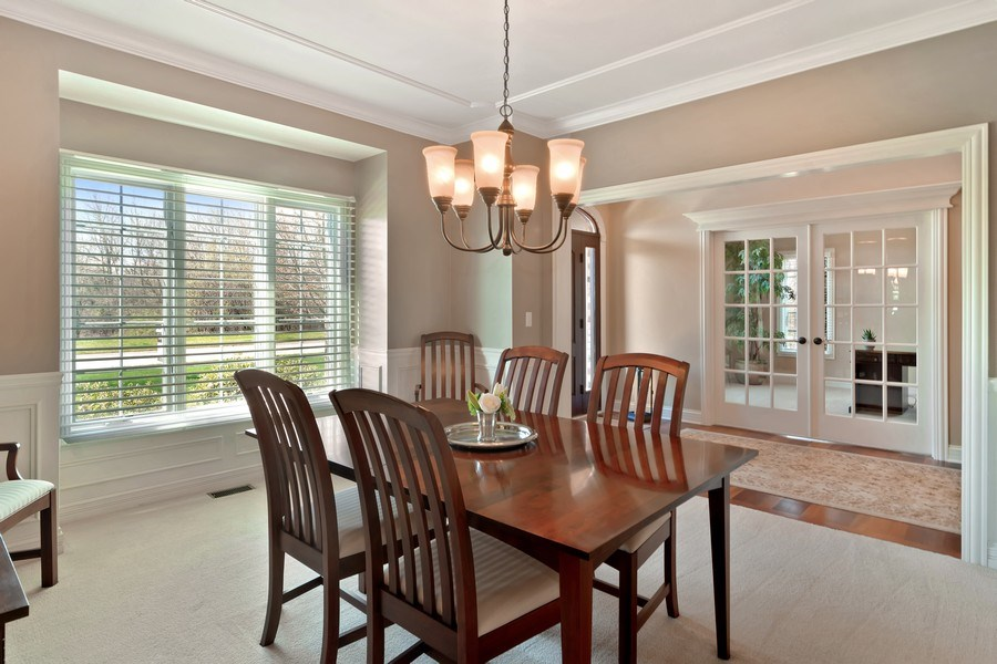 Real Estate Photography - 6 Scarlet Oak, Hawthorn Woods, IL, 60047 - Dining Room