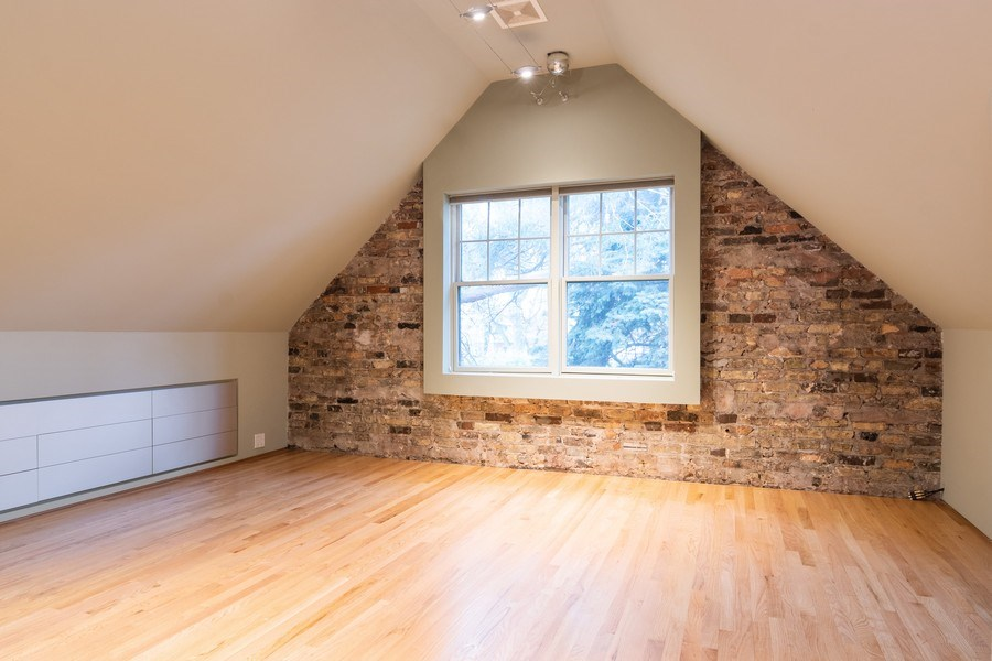 Real Estate Photography - 6348 W. Hyacinth St., Chicago, IL, 60646 - Master Bedroom
