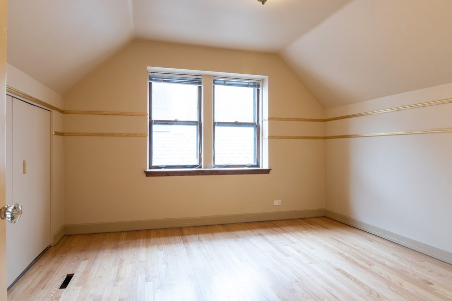 Real Estate Photography - 6348 W. Hyacinth St., Chicago, IL, 60646 - 2nd Bedroom