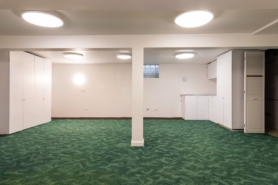 Real Estate Photography - 6348 W. Hyacinth St., Chicago, IL, 60646 - Basement