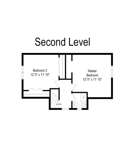 Real Estate Photography - 6348 W. Hyacinth St., Chicago, IL, 60646 - Floor Plan