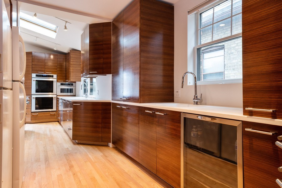 Real Estate Photography - 6348 W. Hyacinth St., Chicago, IL, 60646 - Kitchen