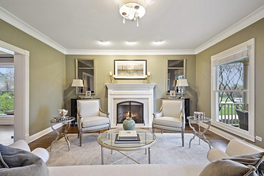Real Estate Photography - 487 S Arlington, Elmhurst, IL, 60126 - Living Room