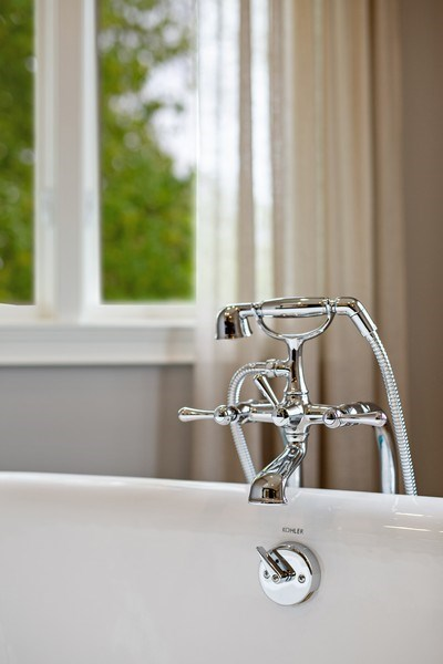Real Estate Photography - 487 S Arlington, Elmhurst, IL, 60126 - Master Bathroom