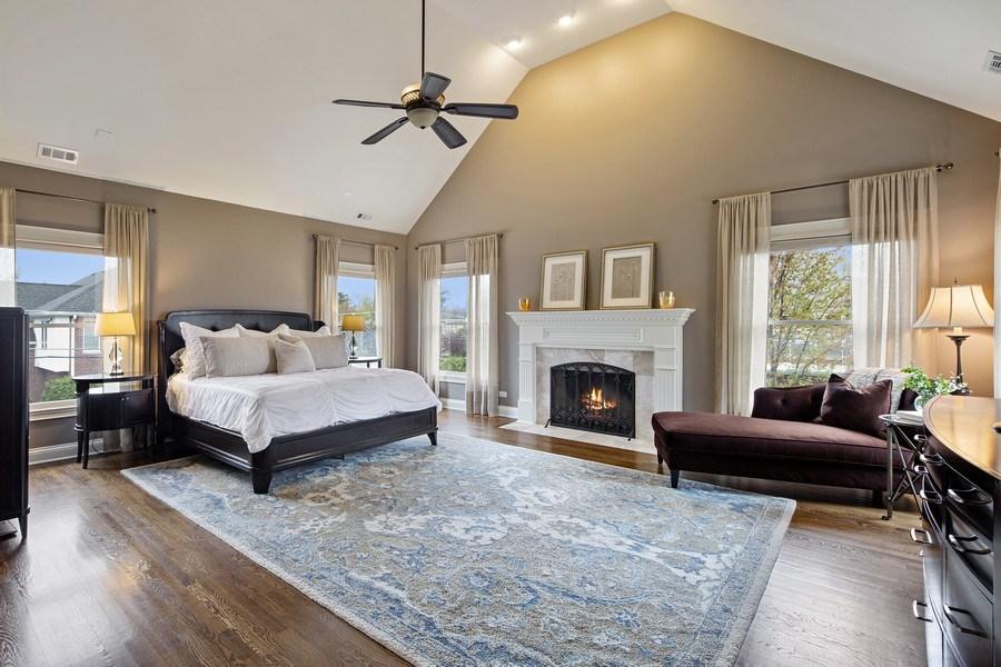 Real Estate Photography - 487 S Arlington, Elmhurst, IL, 60126 - Master Bedroom
