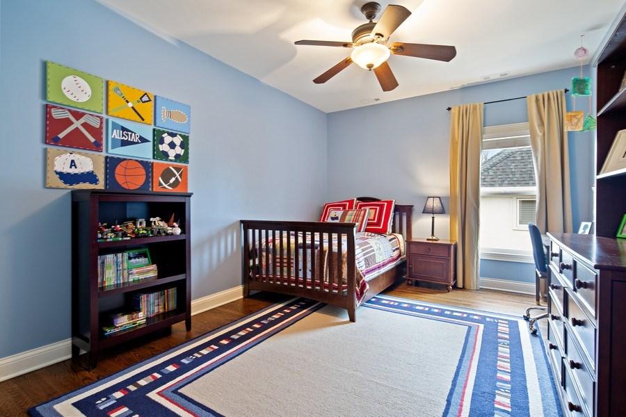 Real Estate Photography - 487 S Arlington, Elmhurst, IL, 60126 - 2nd Bedroom