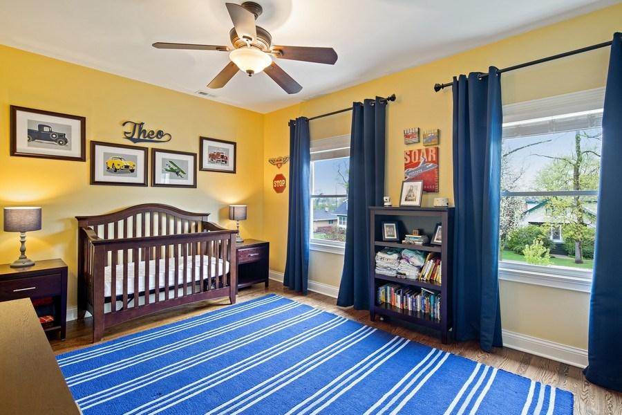 Real Estate Photography - 487 S Arlington, Elmhurst, IL, 60126 - 4th Bedroom