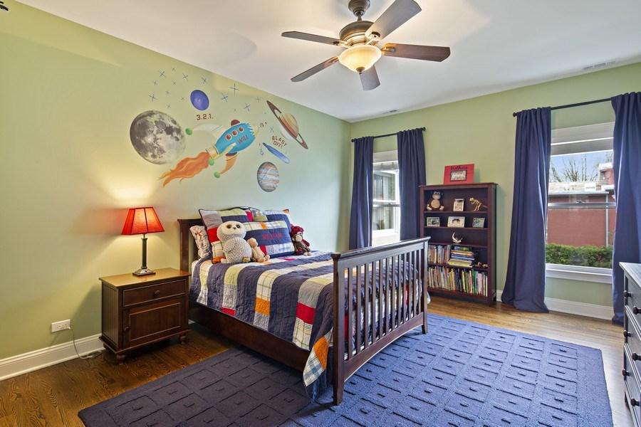 Real Estate Photography - 487 S Arlington, Elmhurst, IL, 60126 - Bedroom