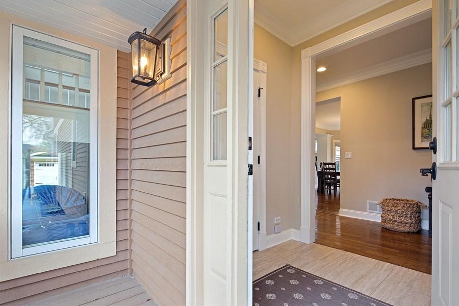 Real Estate Photography - 487 S Arlington, Elmhurst, IL, 60126 - Mudroom