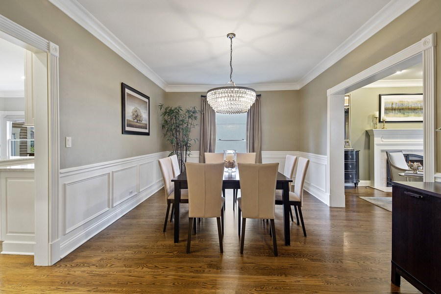 Real Estate Photography - 487 S Arlington, Elmhurst, IL, 60126 - Dining Room
