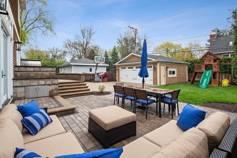Real Estate Photography - 487 S Arlington, Elmhurst, IL, 60126 - Back Yard