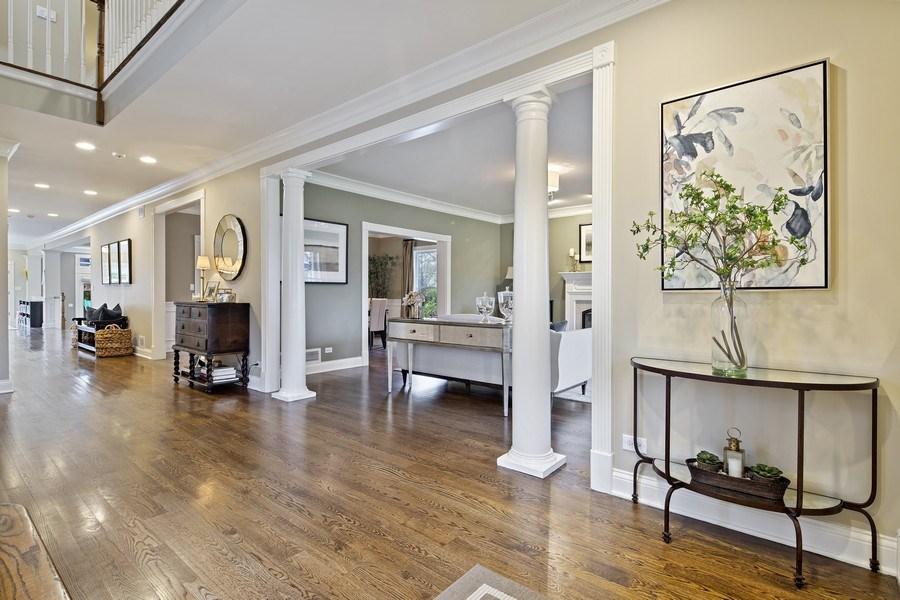 Real Estate Photography - 487 S Arlington, Elmhurst, IL, 60126 - Foyer