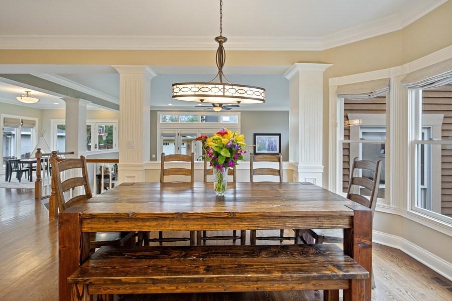 Real Estate Photography - 487 S Arlington, Elmhurst, IL, 60126 - Breakfast Area