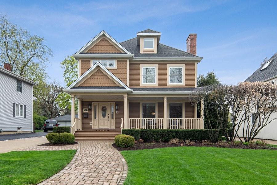 Real Estate Photography - 487 S Arlington, Elmhurst, IL, 60126 - Front View