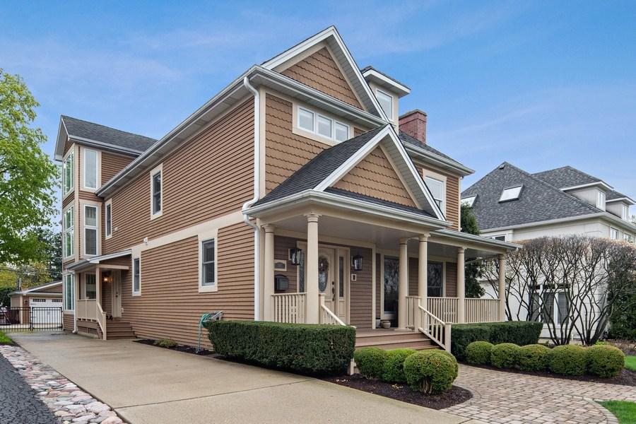 Real Estate Photography - 487 S Arlington, Elmhurst, IL, 60126 - Side View