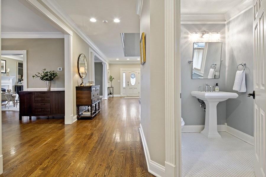 Real Estate Photography - 487 S Arlington, Elmhurst, IL, 60126 - Hallway