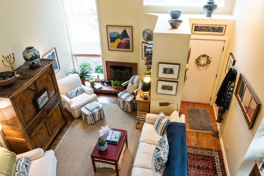 Real Estate Photography - 1215 Central Street #A, Evanston, IL, 60201 - Living Room
