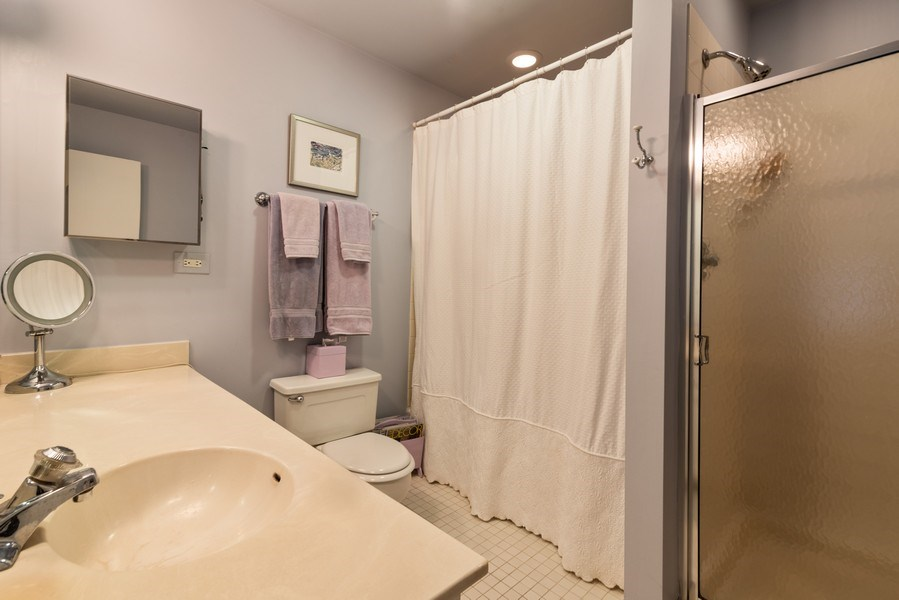 Real Estate Photography - 1215 Central Street #A, Evanston, IL, 60201 - Master Bathroom