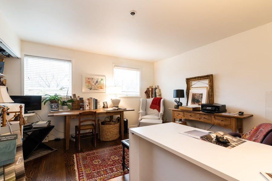 Real Estate Photography - 1215 Central Street #A, Evanston, IL, 60201 - 2nd Bedroom