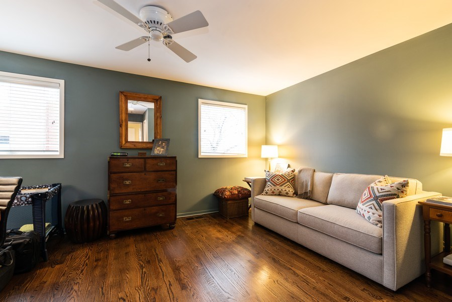Real Estate Photography - 1215 Central Street #A, Evanston, IL, 60201 - 3rd Bedroom