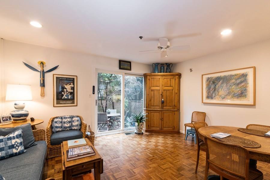 Real Estate Photography - 1215 Central Street #A, Evanston, IL, 60201 - Family Room