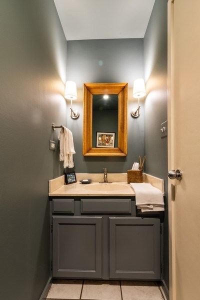 Real Estate Photography - 1215 Central Street #A, Evanston, IL, 60201 - Half Bath