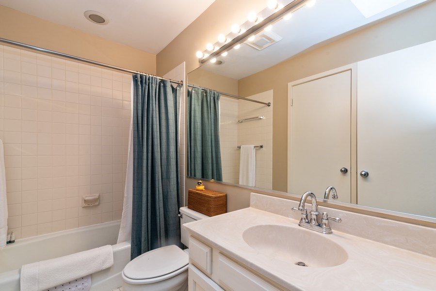 Real Estate Photography - 1215 Central Street #A, Evanston, IL, 60201 - 2nd Bathroom