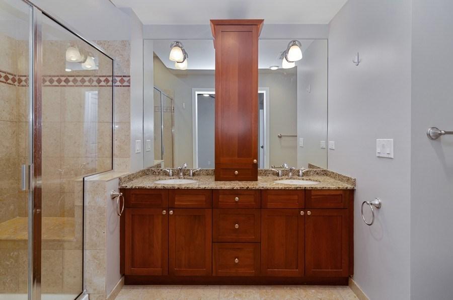 Real Estate Photography - 2055 W Farragut Ave Unit 1, Chicago, IL, 60625 - Master Bathroom