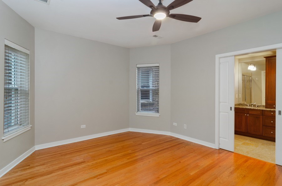 Real Estate Photography - 2055 W Farragut Ave Unit 1, Chicago, IL, 60625 - Master Bedroom