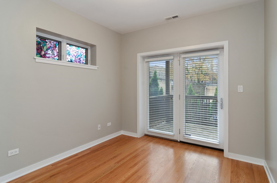 Real Estate Photography - 2055 W Farragut Ave Unit 1, Chicago, IL, 60625 - 2nd Bedroom