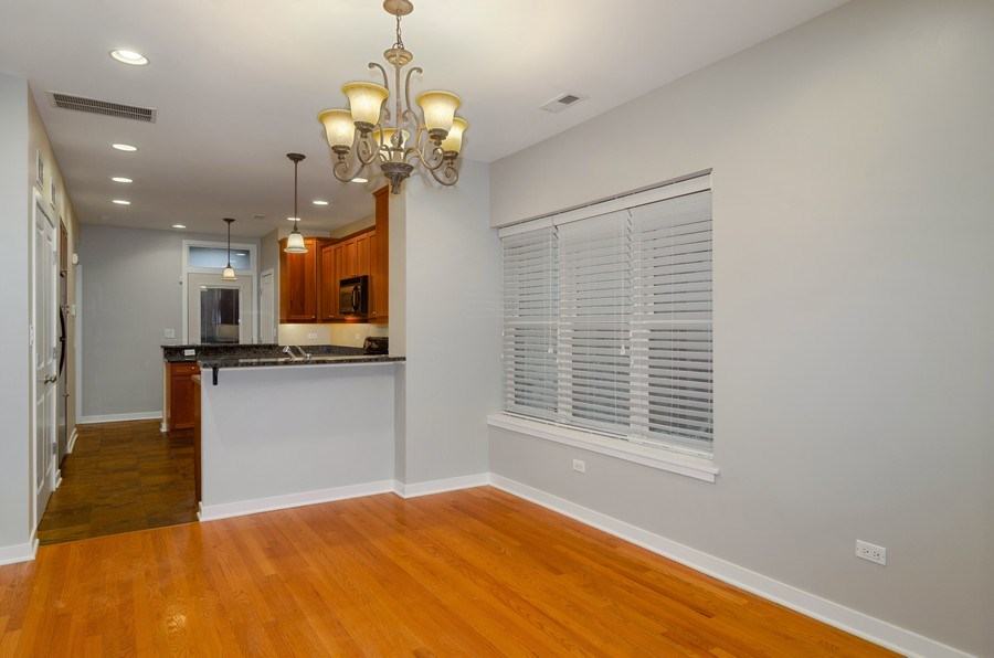Real Estate Photography - 2055 W Farragut Ave Unit 1, Chicago, IL, 60625 - Dining Room