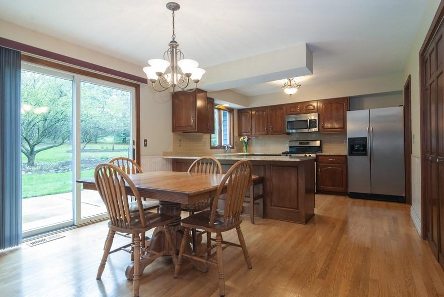 Real Estate Photography - 37W935 Spring Green Way, Batavia, IL, 60510 - Kitchen / Breakfast Room