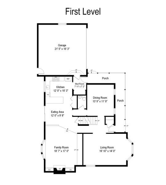 Real Estate Photography - 37W935 Spring Green Way, Batavia, IL, 60510 - Floor Plan