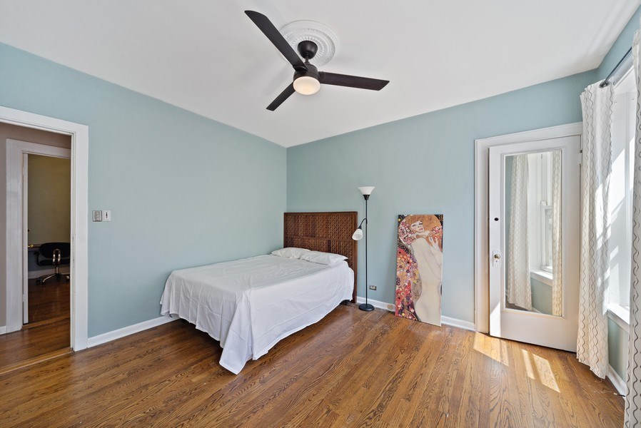 Real Estate Photography - 5901 N. Kenmore Ave. #3, Chicago, IL, 60660 - 2nd Bedroom