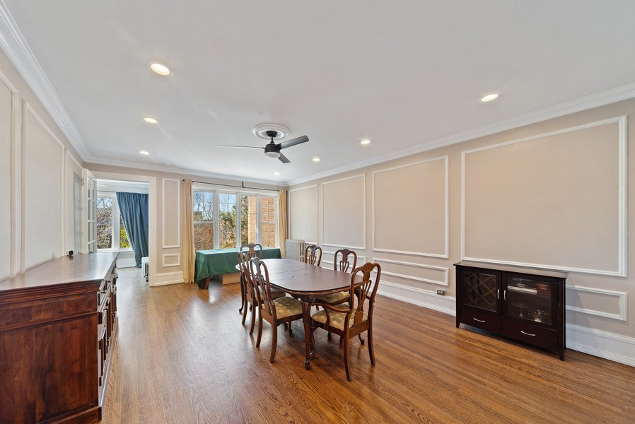 Real Estate Photography - 5901 N. Kenmore Ave. #3, Chicago, IL, 60660 - Dining Room