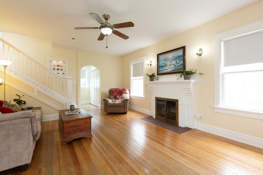 Real Estate Photography - 207 W Station St, Barrington, IL, 60010 - Living Room